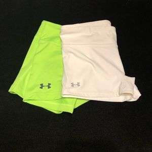 Under Armour fitted shorts sz M